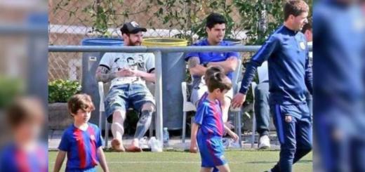 La foto viral de Messi junto a Luis Suárez y la particular reflexión de la persona que la publicó