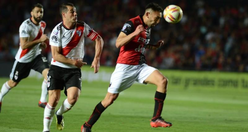 Superliga: con suplentes y pensando en la Copa Libertadores River cayó ante Colón