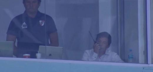 El video de Gallardo violando la sanción de la Conmebol y que lo dejaría sin final de Copa Libertadores