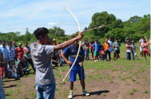 Encuentro Deportivo entre Comunidades Mbya Guaraní en Jardín América