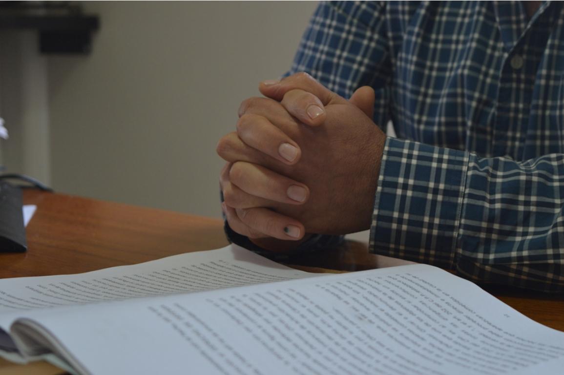 """EXPEDIENTES, Justicia en San Vicente: """"Llevó dos años poner al día el Juzgado de Instrucción, que había estado mucho tiempo sin magistrado titular"""", admitió el juez Gerardo Casco"""