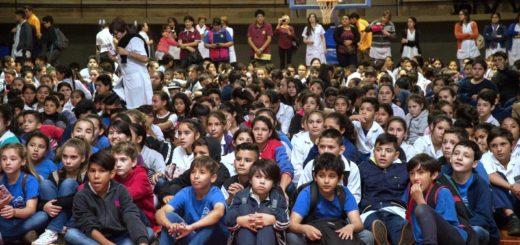 Más de 900 alumnos de los 6tos grados de Iguazú participaron del cierre del Programa de Separación de Residuos