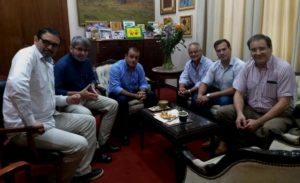 El vicegobernador Herrera Ahuad analizó con directivos del COIFORM la actualidad forestal y la articulación de la institución con la Provincia