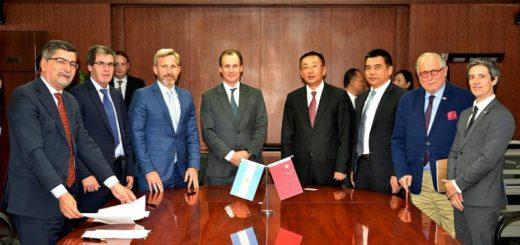 Se firmó en China el acuerdo marco de cooperación de intercambio comercial entre Entre Ríos y la compañía CNTIC