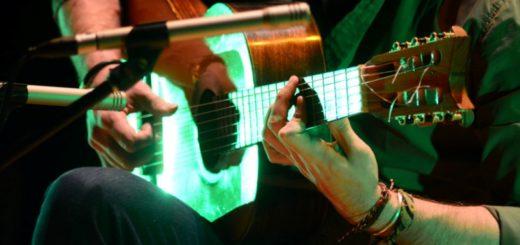"""En el Teatro Lírico sonaron """"Guitarras del Mundo"""" en la XXIV edición de este festival"""