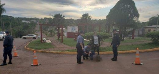 Policías reanimaron a una mujer que se descompensó en la vía pública de Oberá