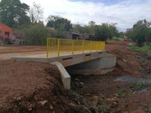 Concluyó la construcción del puente en barrio San Lucas