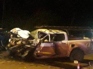 Dos personas murieron en accidente sobre la Ruta 14, cerca de San Vicente
