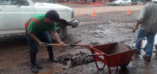 El municipio continúa las tareas de limpieza y asistencia a vecinos tras la tormenta