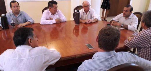 Oscar Herrera Ahuad recibió a presidentes de Cooperativas Eléctricas de Misiones