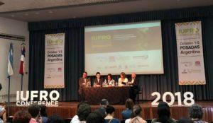 Con 160 investigadores forestales y la representación de 24 países, iniciaron la Conferencia IUFRO 2018 en Posadas