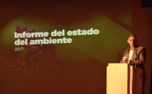 Por segundo año consecutivo, la Nación presentó un Informe del Estado del Ambiente en la Argentina