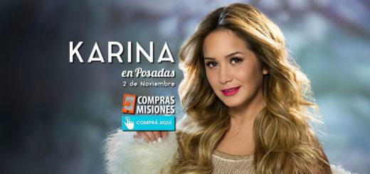 """Karina, """"La Princesita"""" vuelve a Posadas: Sumate a la comunidad de Misiones Online y participá del concurso de dos entradas dobles"""
