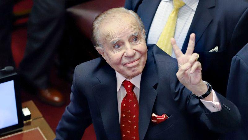 La Cámara de Casación penal absolvió a Menem en la causa de las armas, lo que generó rechazo político