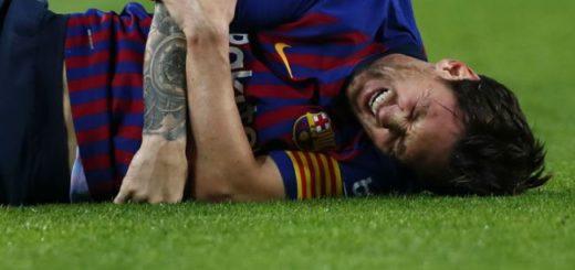 Messi se fracturó y será baja por tres semanas