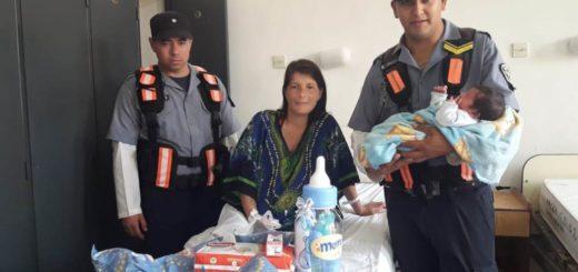 Oberá: policías asisten a una parturienta camino al hospital