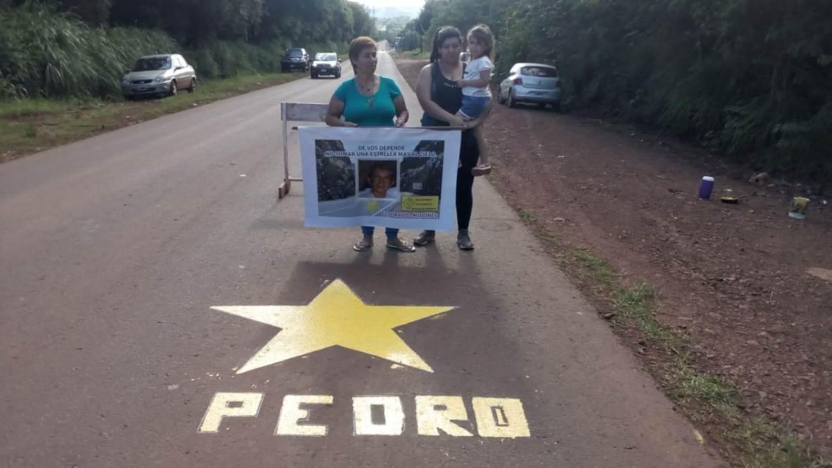 Estrella amarilla para recordar a peatón atropellado y fallecido en Eldorado