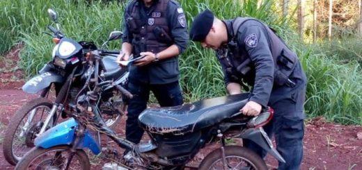 Sorprenden a jóvenes haciendo picadas en moto en Oberá