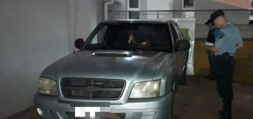 Recuperaron en Andresito una camioneta robada días atrás en San Javier
