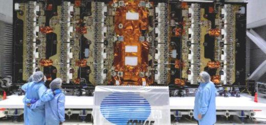 Lanzan el satélite argentino SAOCOM 1-A