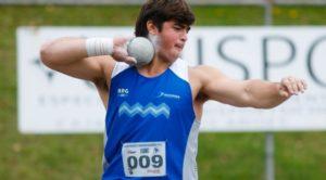 Juegos Olímpicos de la Juventud: Nazareno Sasia se llevó el oro en lanzamiento de bala y Fausto Ruesga, en volcadas