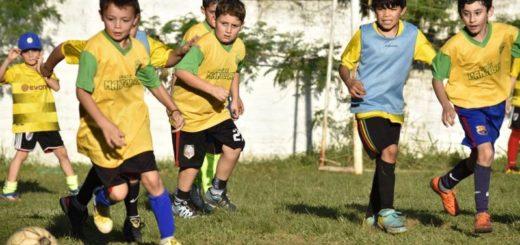 Nuevo encuentro de fútbol infantil en el club Iprodha