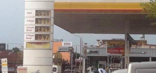 El aumento de combustible en Posadas ya rige en las distintas banderas: Alrededor de 42 pesos el litro de nafta súper