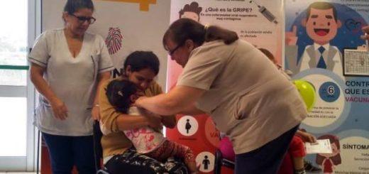 Lanzaron en Misiones la campaña nacional de vacunación contra el sarampión y la rubéola