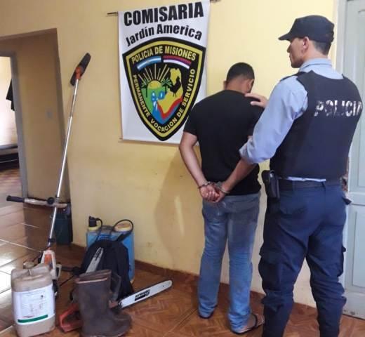 Recuperaron insumos robados de la cooperativa de Jardín América y hay un detenido