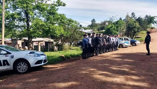 La Policía continúa con Megaoperativo Rural en la provincia