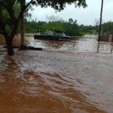 Vecinos de la Chacra 245 con grandes pérdidas tras el temporal en Posadas: Madre rescató a un bebé mientras dormía
