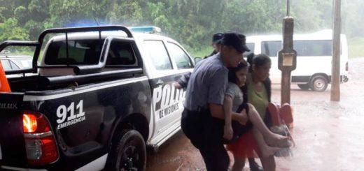Fuerte temporal con abundantes lluvias azotó Oberá y varias localidades del centro de Misiones