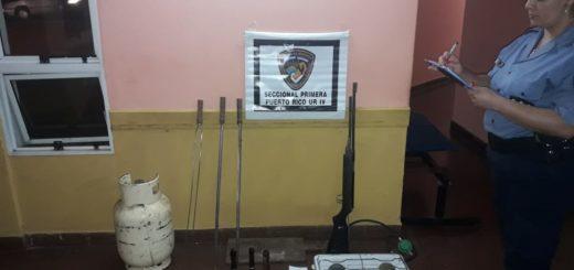 En Ruiz de Montoya secuestraron objetosque habrían sido robados por la pareja dueña de casa