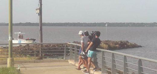 Joven fue al río Paraná con un grupo de amigos y desapareció: intensa búsqueda de la Prefectura en Posadas