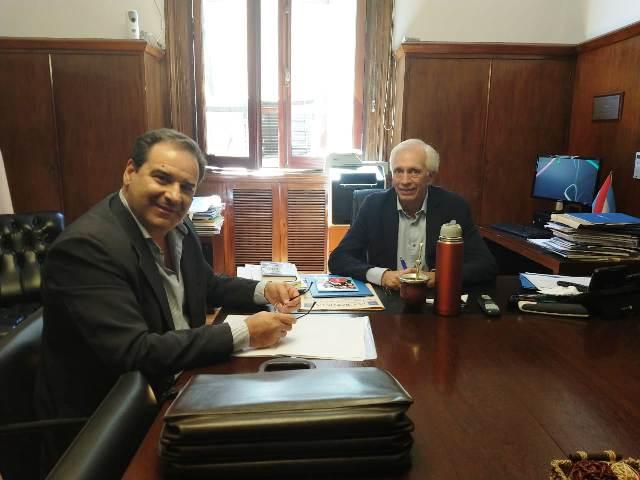 """Garay se reunió con funcionarios nacionales: """"Mañana se firma la resolución de precio del Tabaco"""""""
