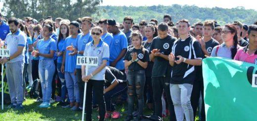 Se desarrolla el Encuentro Deportivo Provincial de Secundarios Rurales Pluriaño en Alem