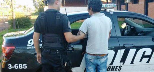 La Policía detuvo a dos violentos en Aristóbulo del Valle y San Vicente