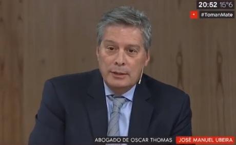Investigación por coimas: el abogado de Oscar Thomas apeló su procesamiento y pidió que se investigue Aña Cuá