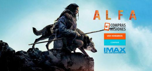 Alfa en el IMAX del Conocimiento…La amistad entre un joven y un lobo en la Edad de Hielo llega a Posadas...Adquirí las entradas en Compras Misiones...