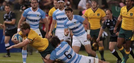 Los Pumas no pudieron sostener su buen arranque y cayeron contra Australia en el Rugby Championship
