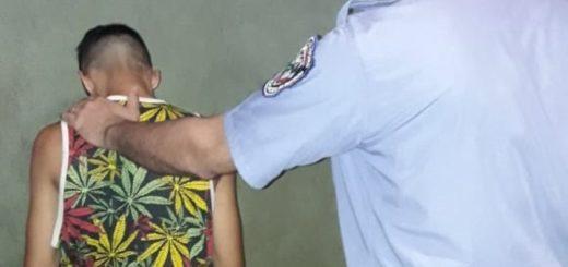 Atrapan a un joven apuntado por un asalto ocurrido en Garupá