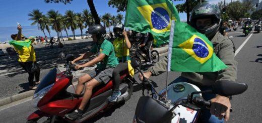 De cara al balotaje en Brasil, miles de personas salen a las calles en Río en apoyo a Bolsonaro