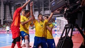 Juegos Olímpicos de la Juventud: Argentina perdió con Brasil en futsal y ahora irá por el bronce