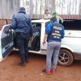 Ubicaron en Cerro Azul un auto robado durante un asalto en Buenos Aires