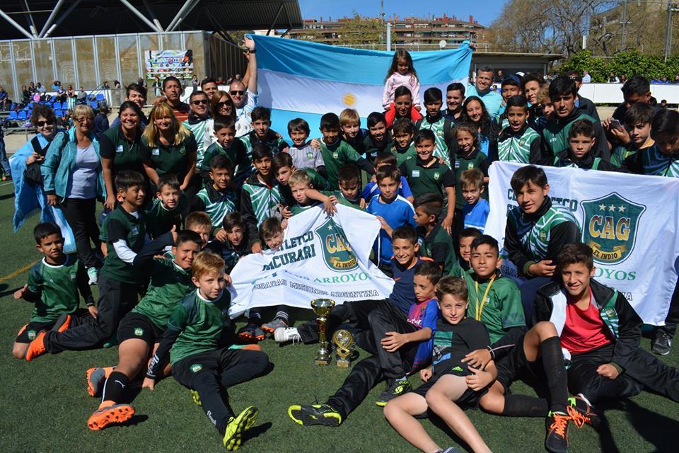 """Fútbol: Los """"Indiecitos"""" del Club Andrés Guacurarí ante otro desafío internacional"""