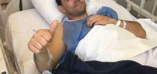 Finalizó con éxito la operación de Carlos Okulovich