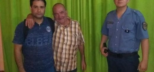 Puerto Esperanza: Policías encontraron y asistieron a un adulto mayor que estaba perdido