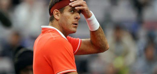 Tenis: Del Potro venció a Gasquet en su debut en el Masters 1000 de Shangai