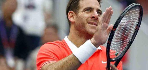 ATP de Beijing: Juan Martín Del Potro pasó a la final tras el abandono de Fabio Fognini