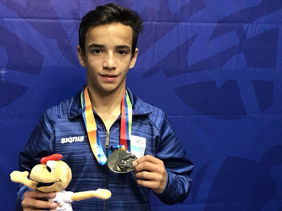 Eduardo Lovera ganó su primera pelea en los Juegos Olímpicos de la Juventud